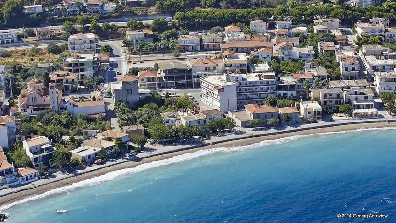 Aigeira - Beach - Aerial View