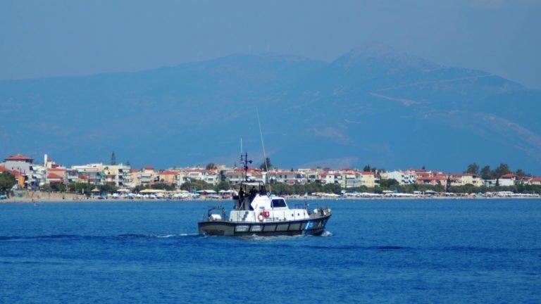 Aigeira - Corinthian Gulf - Coast Guard - Aug 2018