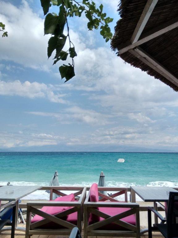 Aigeira - Pythari, greatest beach cafe in the world :)