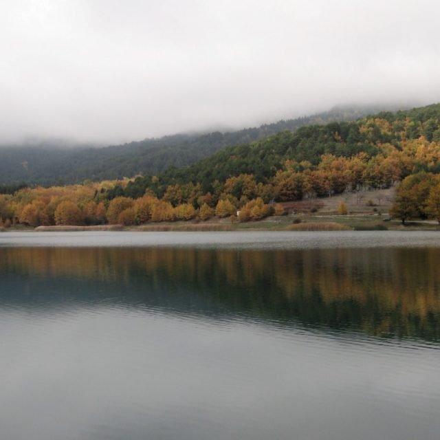 Aigeira - Lake Doxa (Feneos) in Korinthia , Autumn 2014