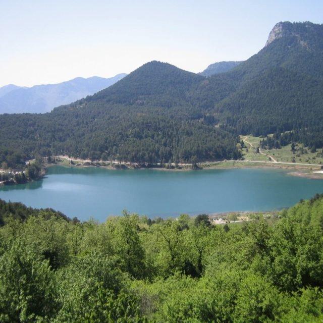 Aigeira - Lake Doxa (Feneou) in Korinthia and Mount Aroania (Helmos) c. 2008