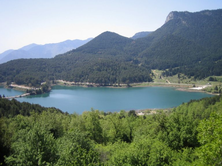 Aigeira - Lake Doxa (Feneou) in Korinthia and Mount Aroania (Helmos) c. 2008