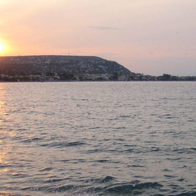 Aigeira - Sunset - May 2008