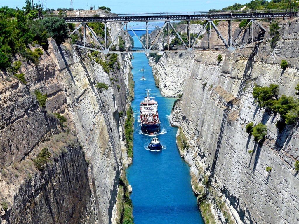 Aigeira - Activities - Sightseeing - Isthmus of Korinth