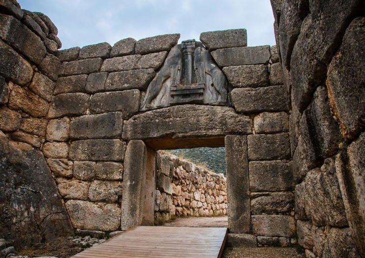 Aigeira - Activities - Sightseeing - Mykines