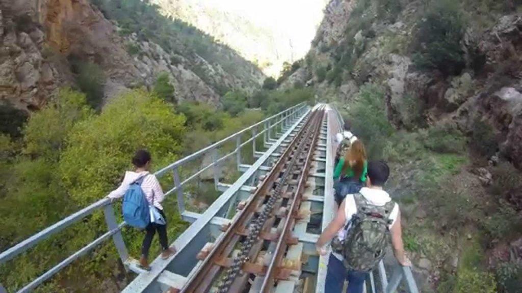 Aigeira - Hiking - Odontotos Trail Bridge