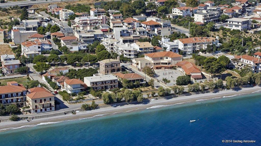 Paralia Akratas - Beach - Aerial View