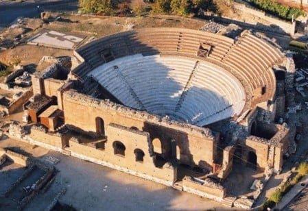 Aigeira - Activities - Sightseeing - Roman Auditorium of Patras