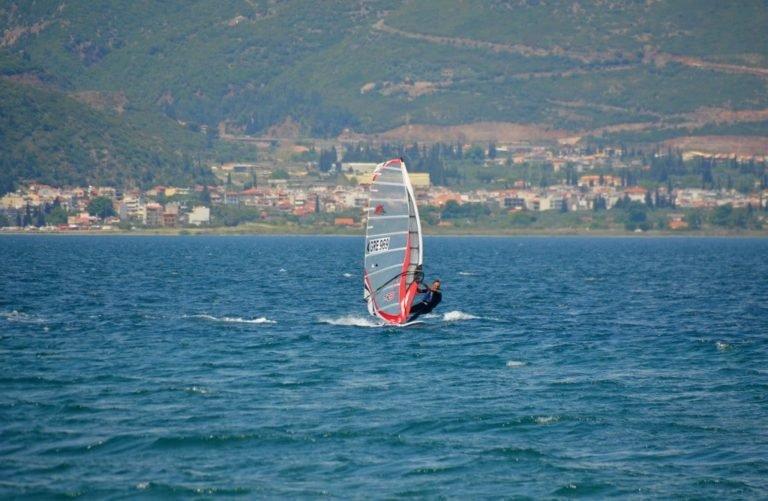 Aigeira - Activities - Windsurfing - Aigeira Akrata Korinthian Gulf