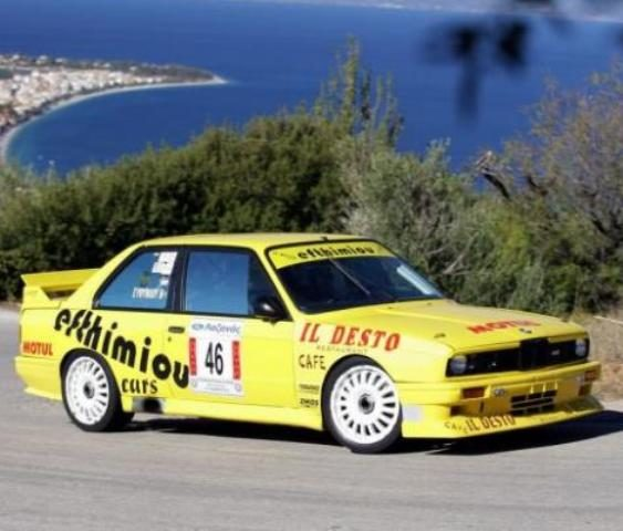 Ancient Aigeira Hillclimb Rally BMW M3 Efthimiou