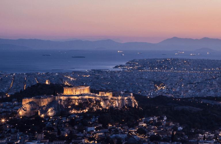 Athens Evening Panorama